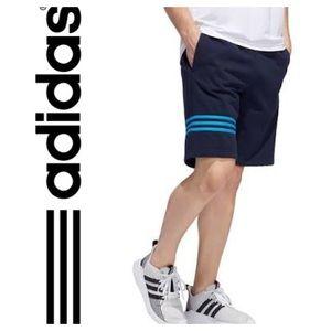 New Men's Adidas Motion Shorts Navy Blue